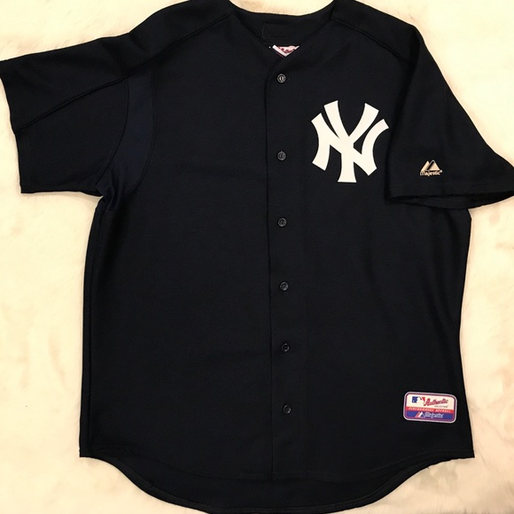 release date: e69c6 93e94 Vintage NY YANKEES Baseball Made in USA MLB jersey